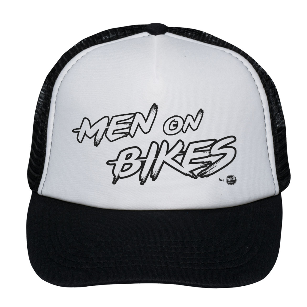Men on Bikes Trucker
